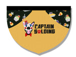 """Captain SPawlding"" Pet Bandana"