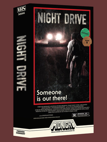 """Night Drive"" Limited Edition VHS"