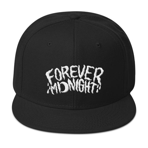 """Forever Midnight"" Snapback Hat"