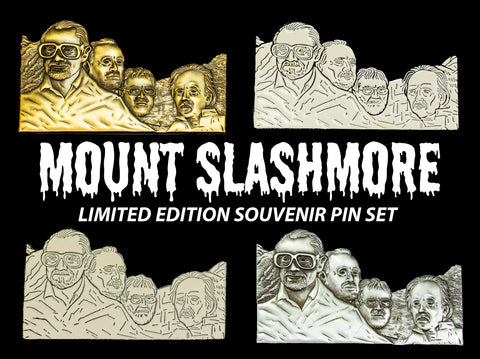 """MOUNT SLASHMORE"" Souvenir Pin Set"