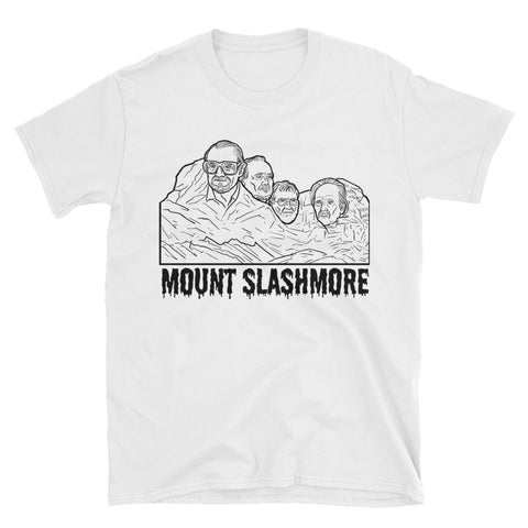 """Mount Slashmore"" White Souvenir Shirt"