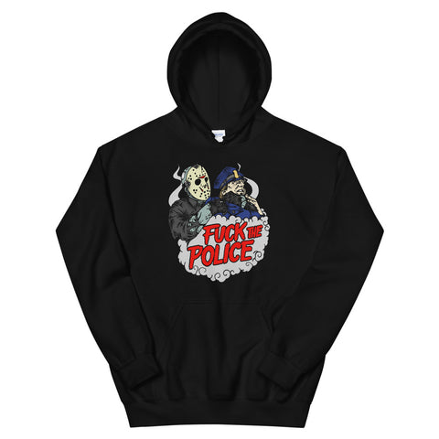 Jason Takes The Police Unisex Hooded Sweatshirt