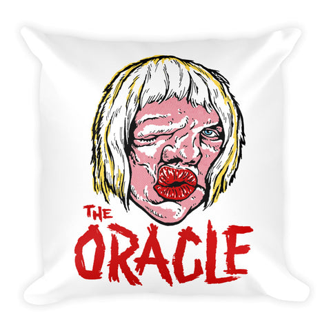 """The Oracle"" Throw Pillow"