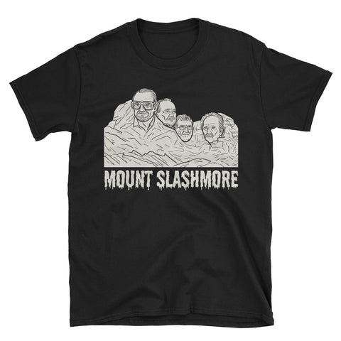 """Mount Slashmore"" Black Souvenir Shirt"