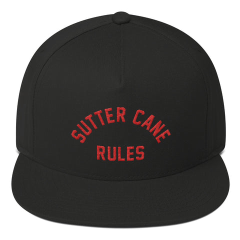 """Sutter Cane Rules"" Snap-Back Hat"