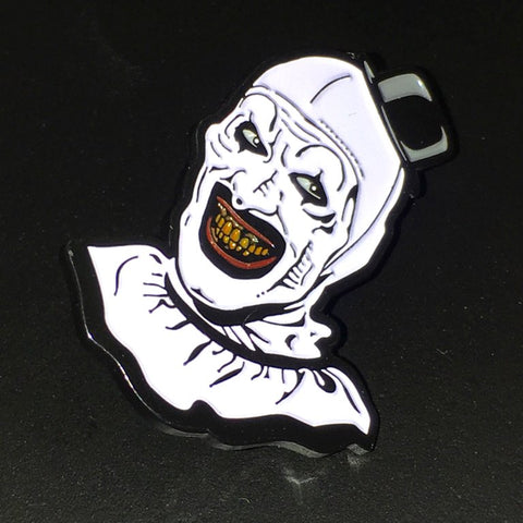 "Official ""Art The Clown"" Pin (Pre-order)"