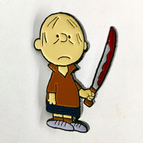 """Charlie Jarvis"" Pin"