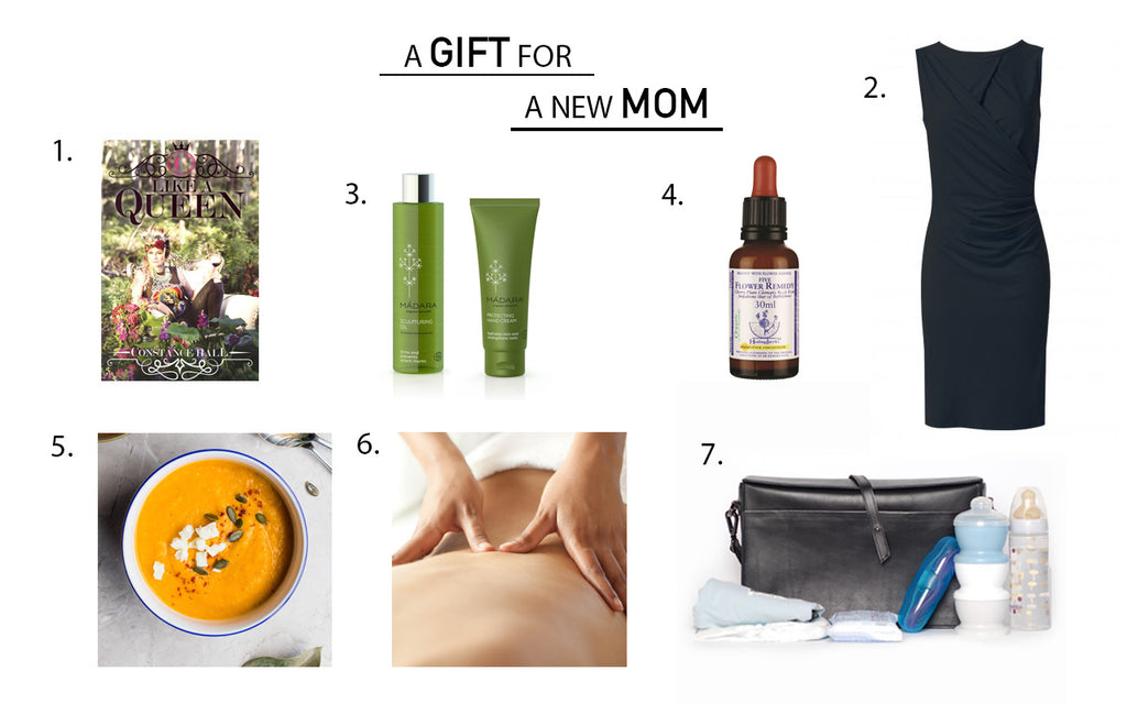 GIFT GUIDE FOR NEW MOM