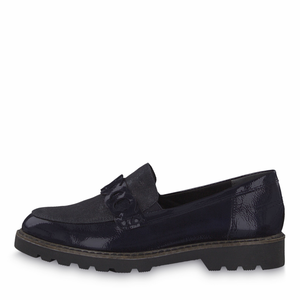 'BABY' Navy Loafer by Tamaris