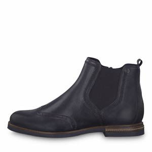 'BOBBY' Navy ANkle Boot by Tamaris