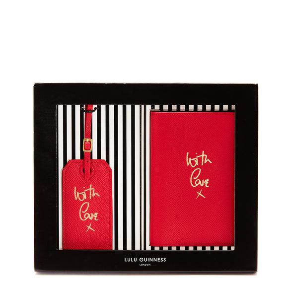 With Love Travel Set by Lulu Guinness