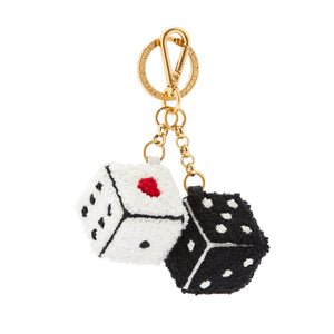 Dice Keyring by Lulu Guinness