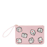 Dice Grace Pouch by Lulu Guinness