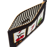 Jackpot Grace Pouch by Lulu Guinness
