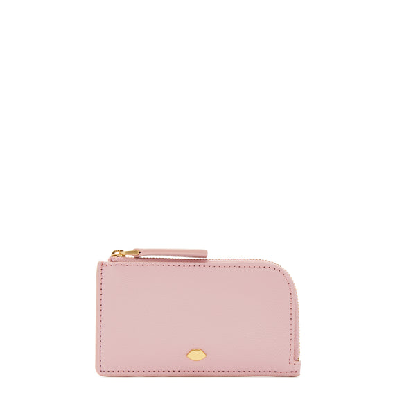 Lip Pin Leah Wallet in Blossom by Lulu Guinness