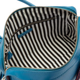 Peekaboo Lip Dylan w/scarf in Sailor by Lulu Guinness