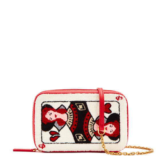 Queen of Hearts Lydia by Lulu Guinness