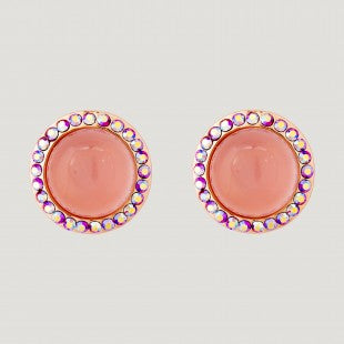 Opalised Multi Stones Stud Earrings by Butler & Wilson