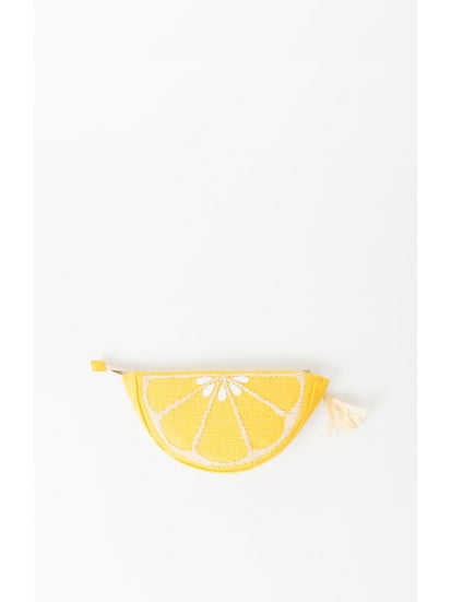 Citrus Clutch in Lemon by Pia Rossini