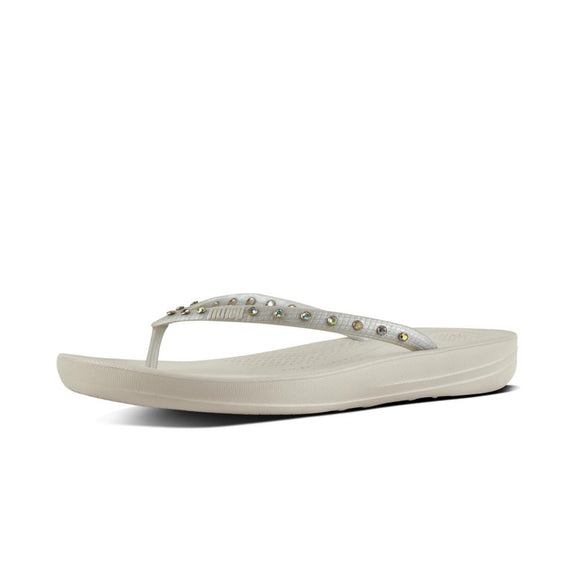 IQushion Crystal Silver by Fit Flop