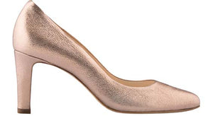 KORA Bronze Metallic Mid Heel   Pump