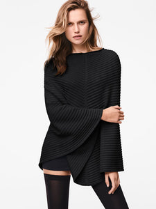 Cashwool Cape Small Black