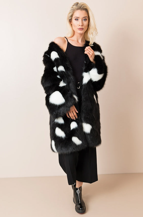 Gianna Coat Black By Pia Rossini