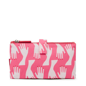 Hug Print Dbl Make-up Peony By Lulu Guinness
