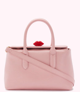 Medium Madeline in Dusky Pink by Lulu Guinness