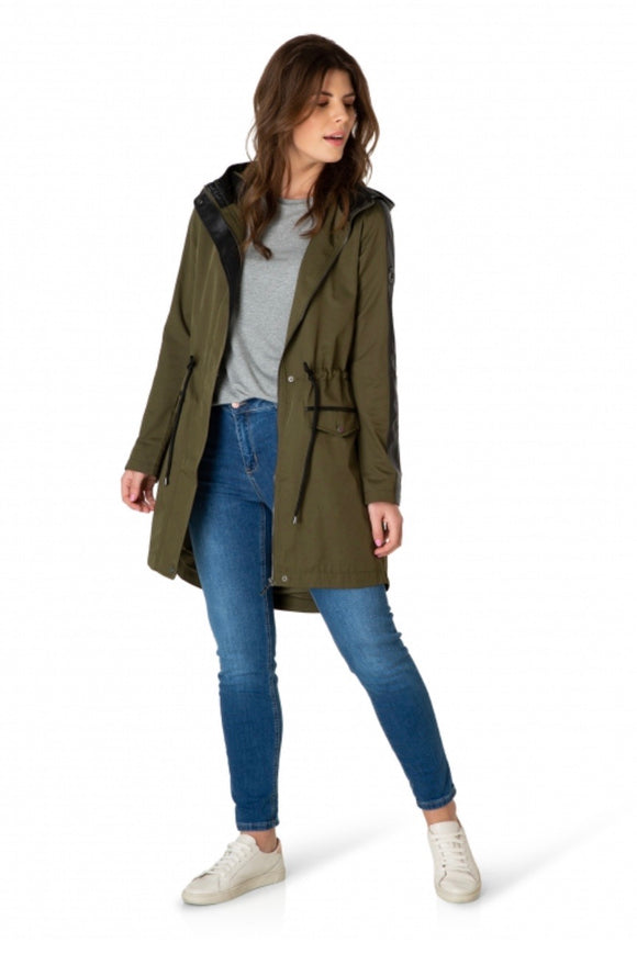 Olive Green Coat by Yest
