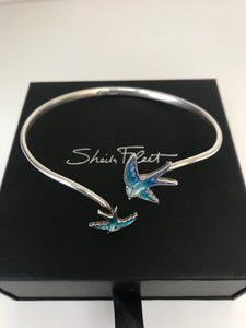 Swallows bracelet/bangle