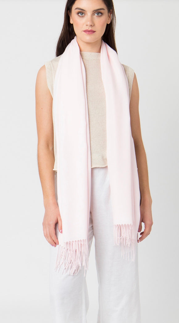 Pia Pashmina in Blush