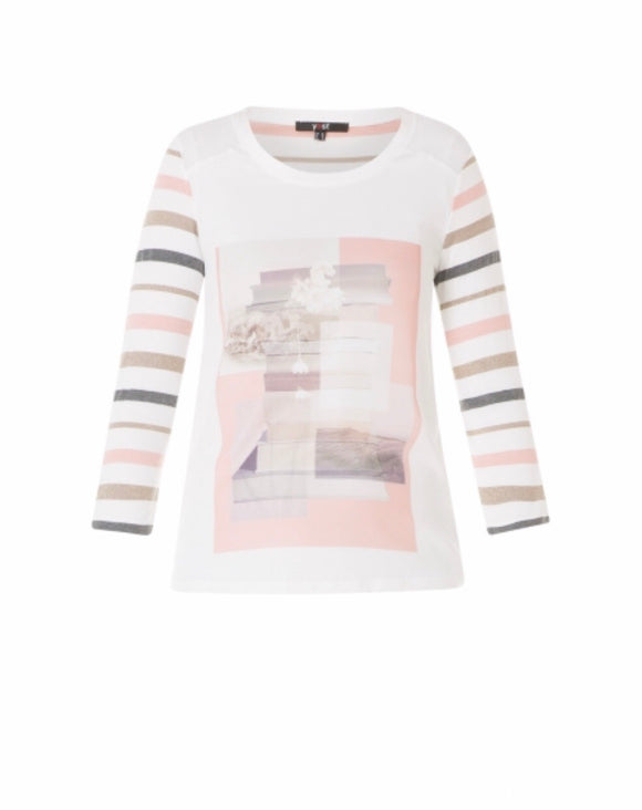 Giem Shirt in Misty Rose/Multi by Yest