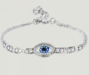 Crystal Eye Row Bracelet by Butler & Wilson