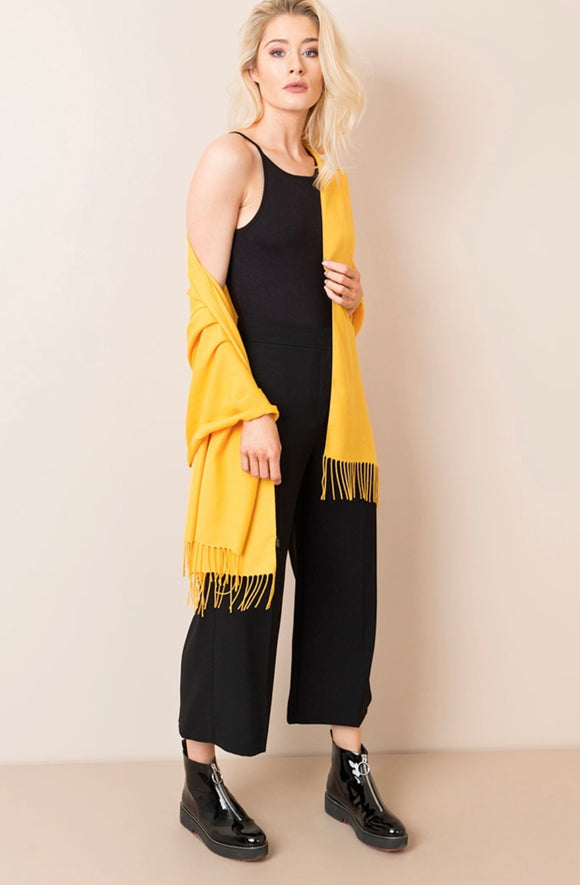 Pia Pashmina in Mustard by Pia Rossini