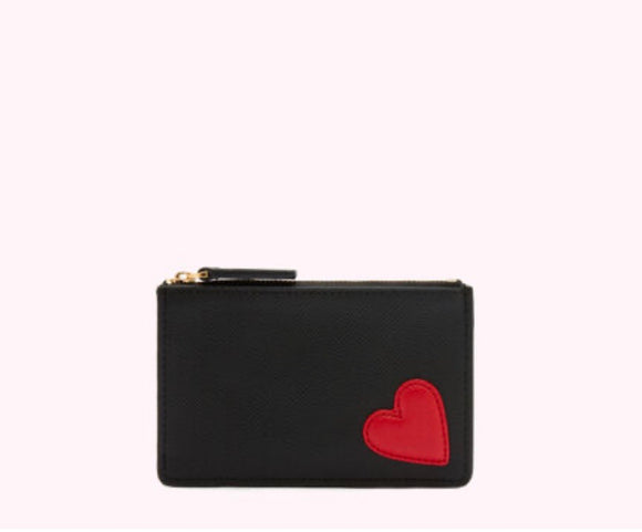 Heart Lottie Pouch by Lulu Guinness
