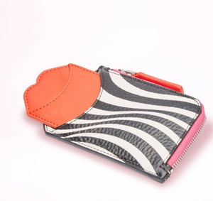Optical Stripe Liliana by Lulu Guinness