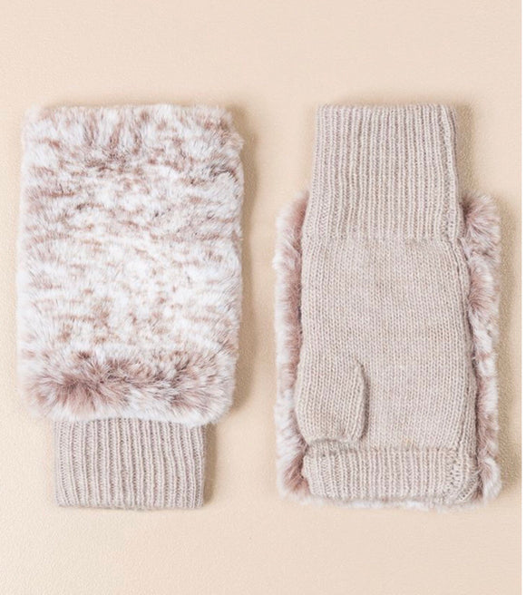 Zoella Fingerless Gloves Natural By Pia Rossini