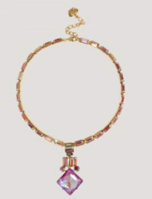 Art-Deco Drop Necklace by Butler & Wilson