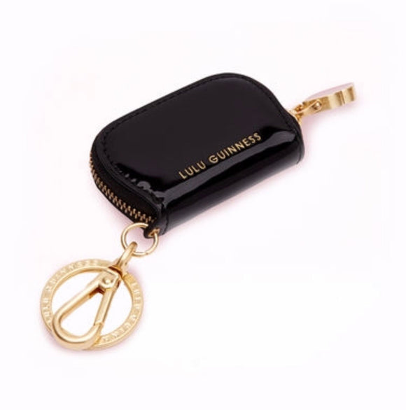Smooth Calf Holly Keyring by Lulu Guinness