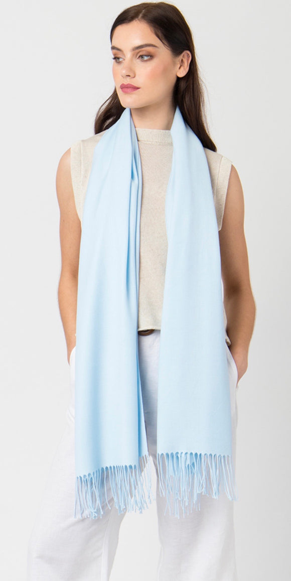 Pia Pashmina in Baby Blue