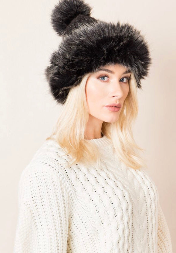 Cara Hat Black By Pia Rossini