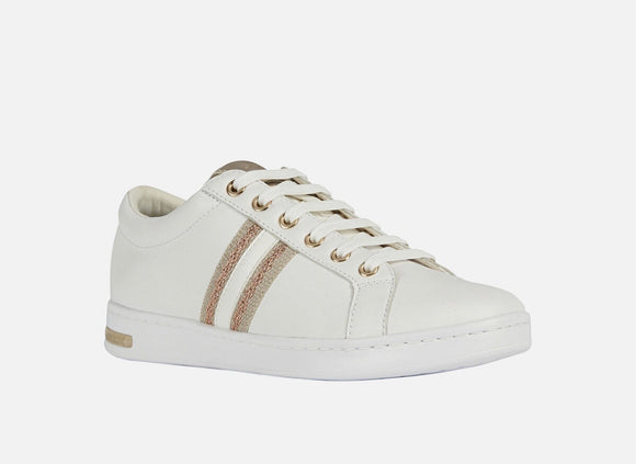 SS20 Jaysen White/Rose Gold Sneakers By Geox