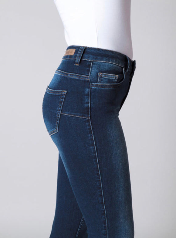 Mid Blue Joy Jeans by Yest