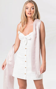 Gracelyn Scarf in Blush by Pia Rossini