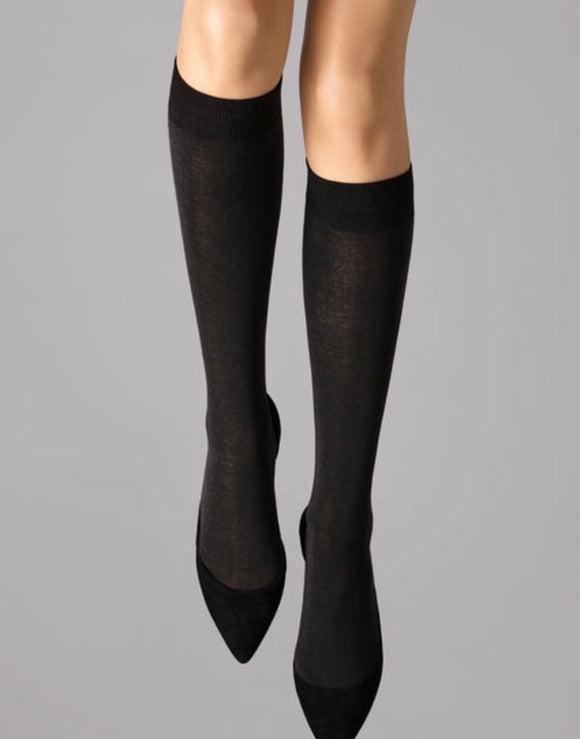 Merino Knee-Highs by Wolford