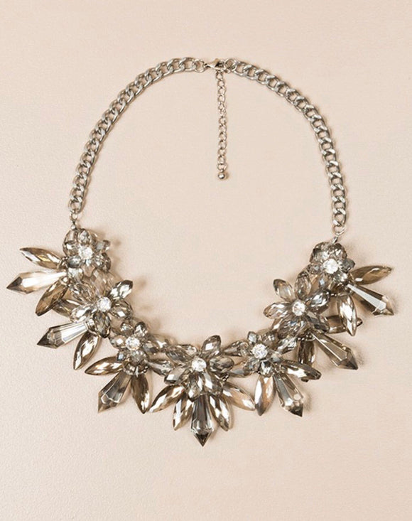 Diana Silver Necklace By Pia Rossini