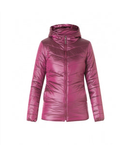 Maroon Padded Jacket by Yest