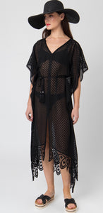 Lille Maxi Dress in Black by Pia Rossini
