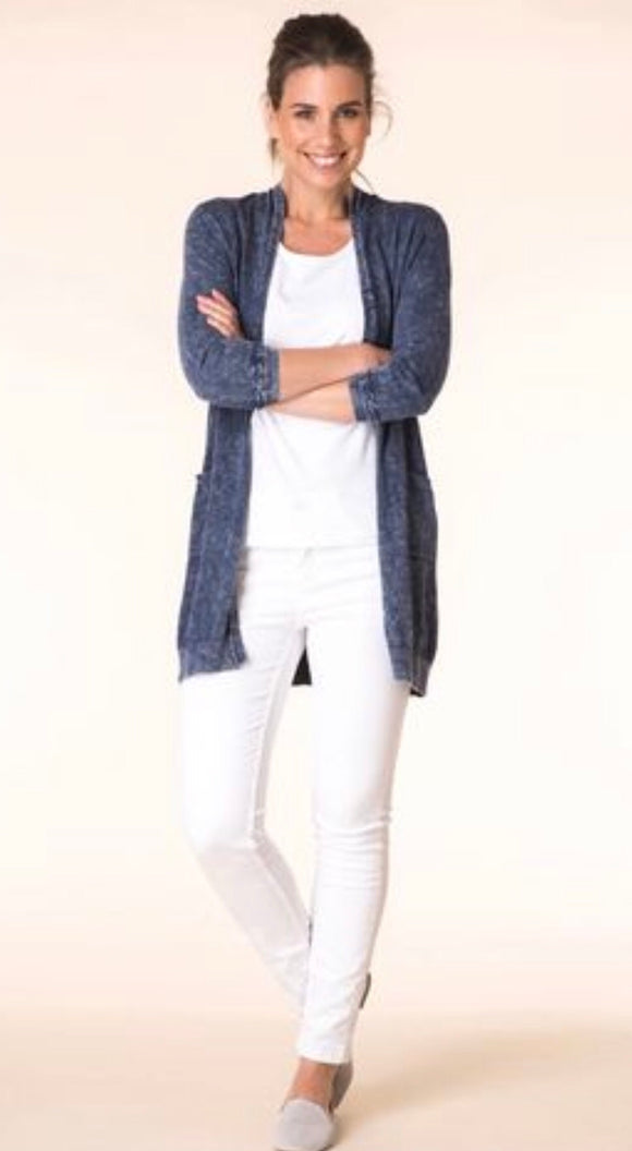 Mid Blue Cardigan by Yest